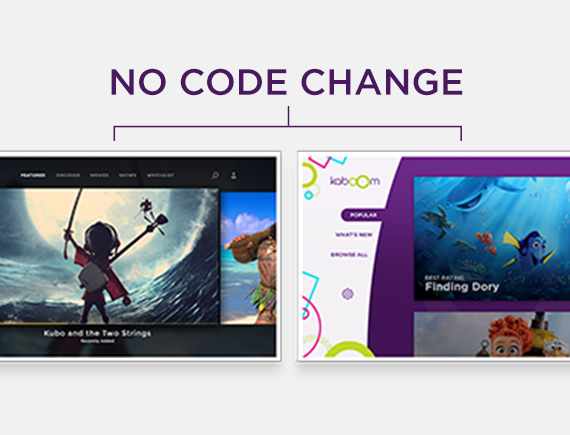 Can You Rebrand An SVOD App With No Code Changes?