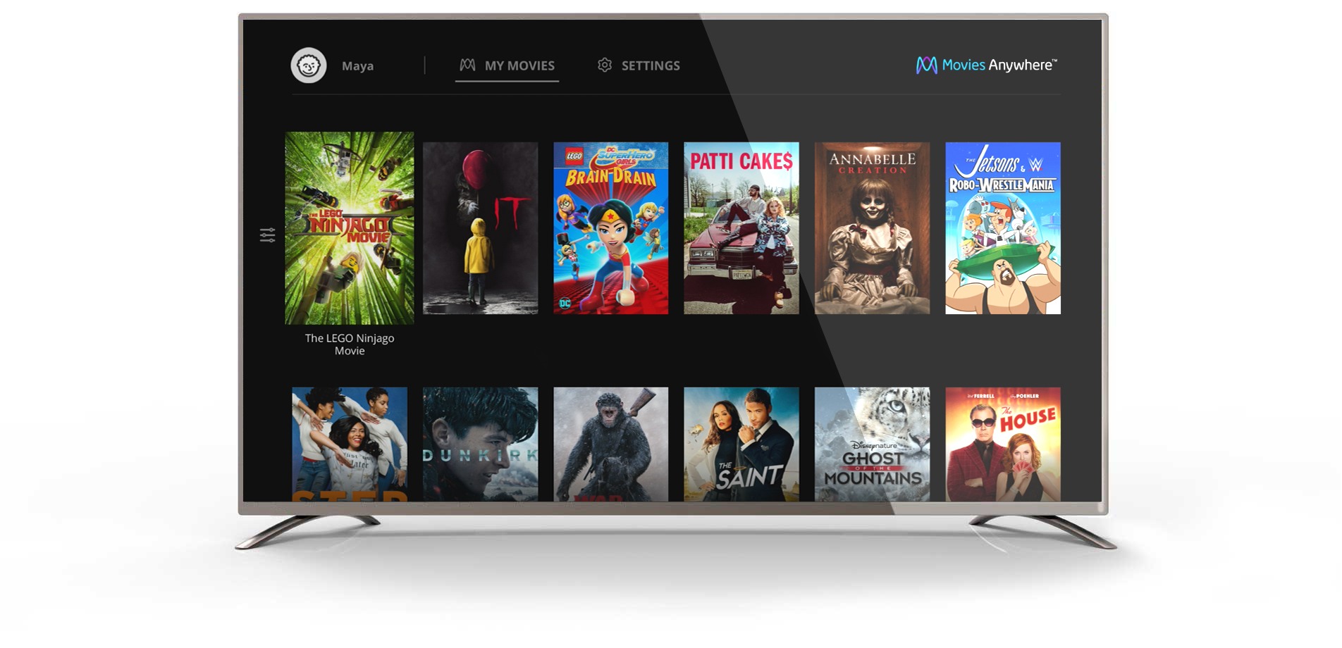 Movies Anywhere 10ft